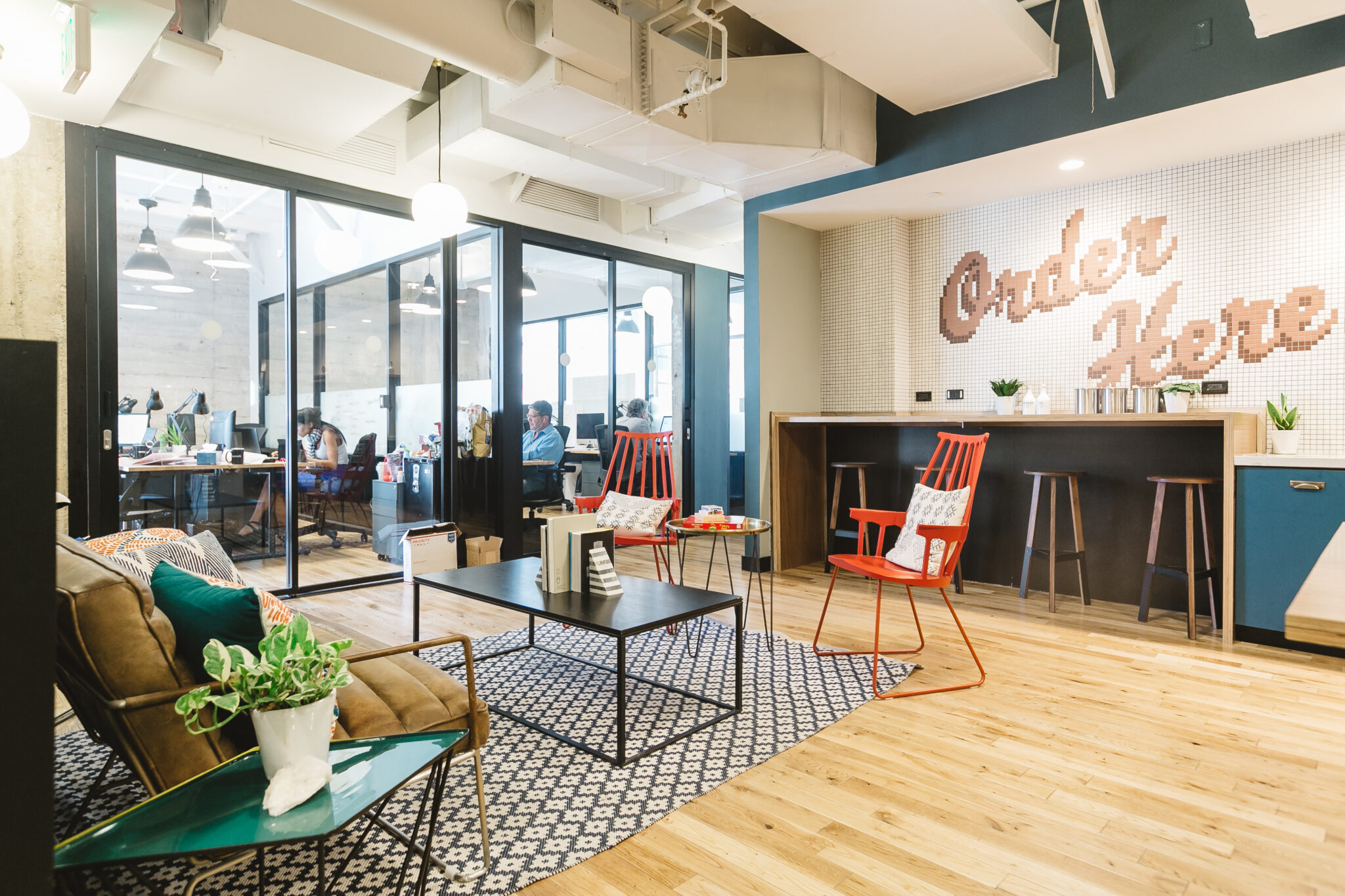 creative shared office space parker advisors
